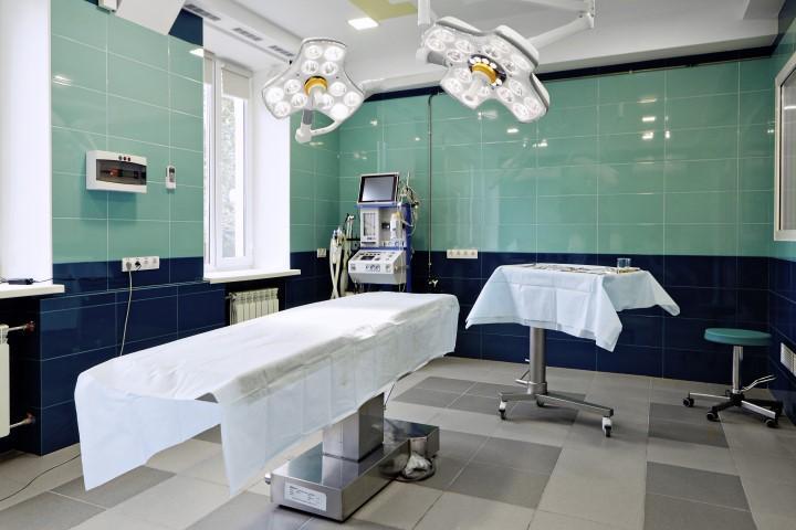 Новая европейская операционная 1 - клиника VIdnova