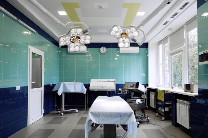 Новая европейская операционная 2 - клиника VIdnova