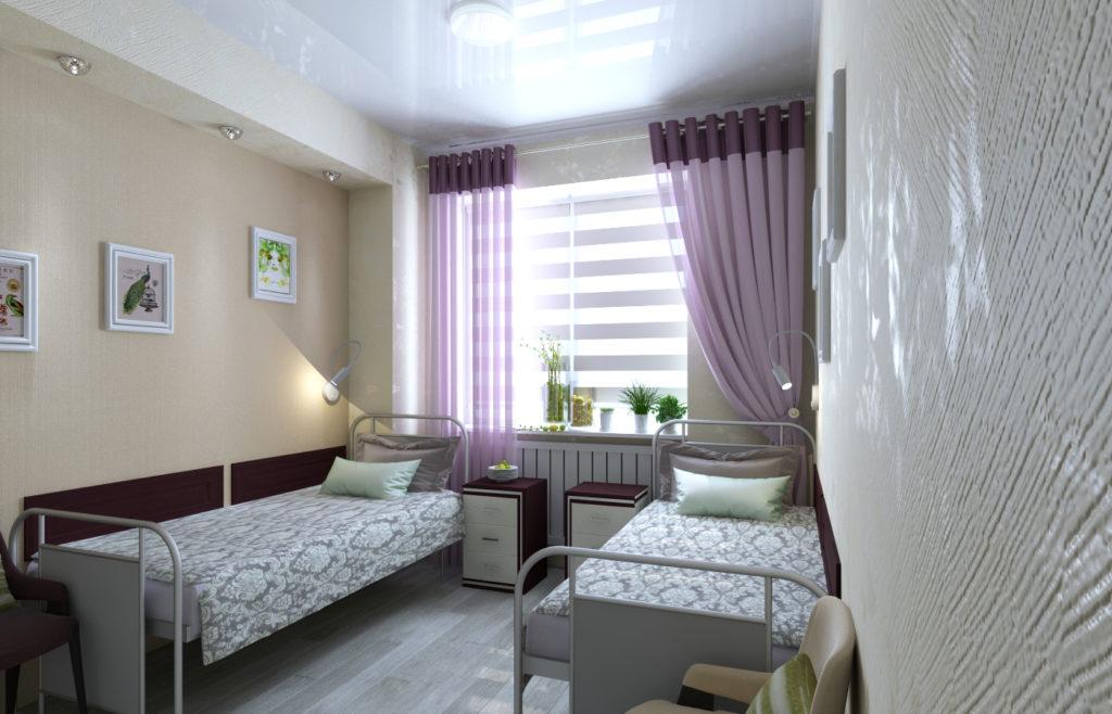 Комфортные палаты palata 1024x658 - клиника VIdnova