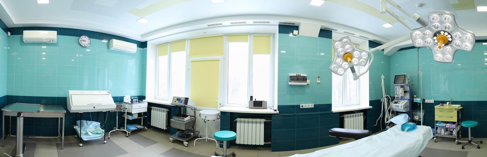 Операционная клиники Vidnova